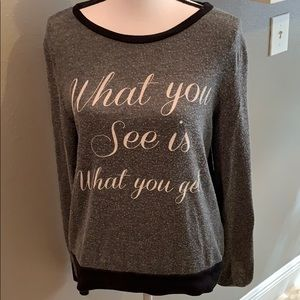 F21 What You See Is What You Get Sweater